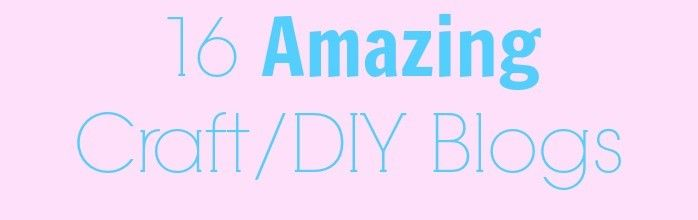 DIY and Craft Blogs You Want to Follow | Craft blog, Diy ...