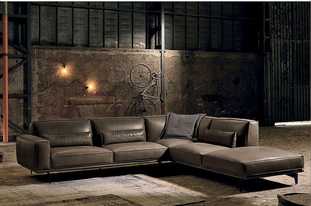 סלון פינתי מבחר חדש Francoferri Leather Sofa Italian Leather Sofa Home Theater Seating
