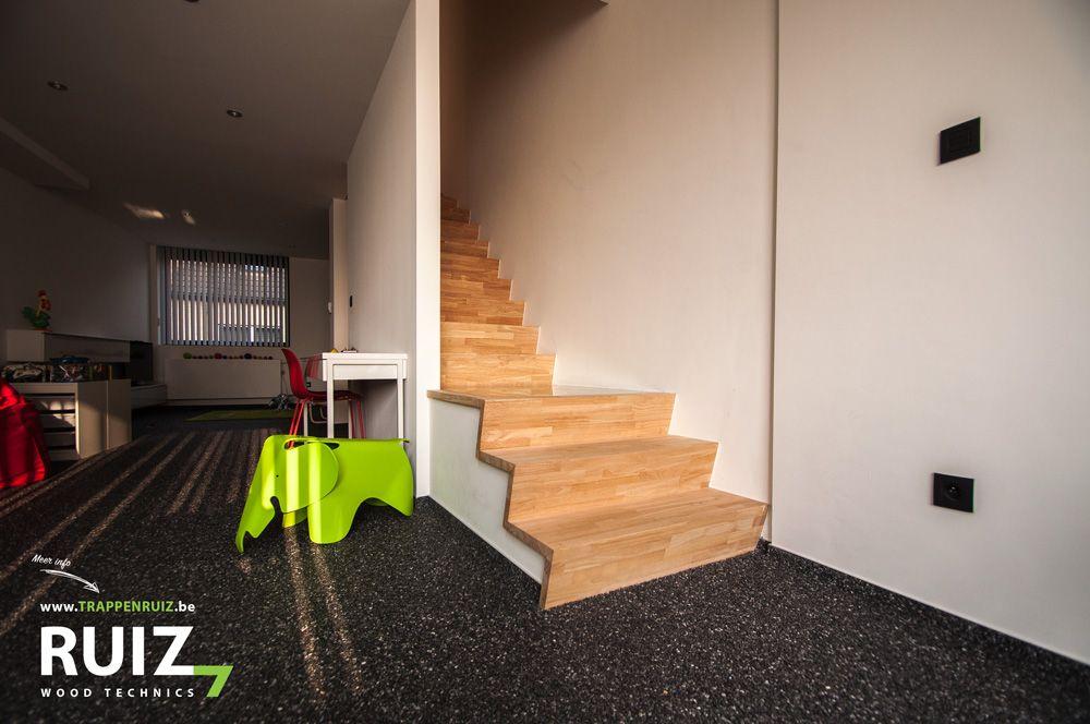 Trap met glazen bordes design trappen vans