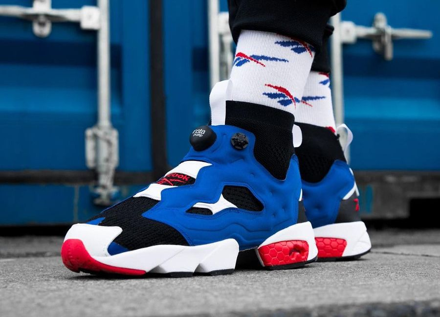 low priced 8deaa 683f4 Reebok Insta Pump Fury OG Ultraknit 'Team Dark Royal' | Creps in ...