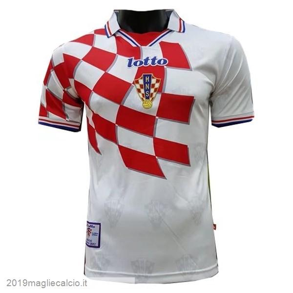 Negozio Maglie Calcio Lotto Home Maglia Croazia Vintage