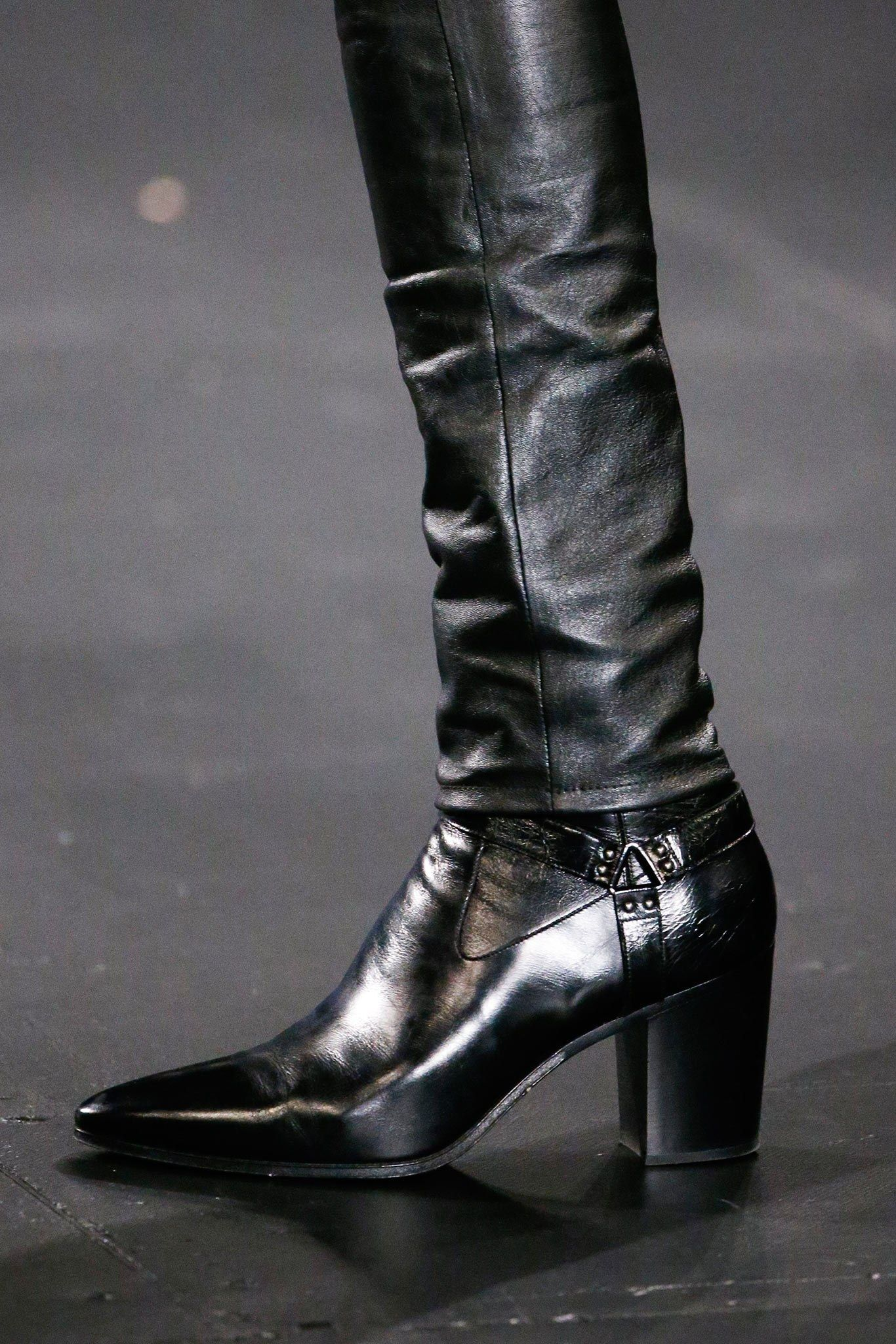 Mens heeled boots, Men in heels