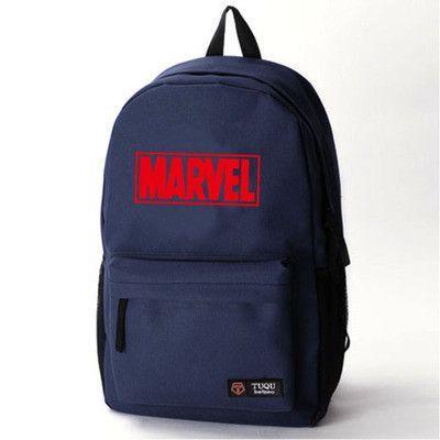 0149ede7e89c98 Comics Avengers Thor Ironman Spiderman logo Avengers 2 Superhero School  Bags For Teenagers captain America Boys Backpack Bag, Backpacks 80's hwd