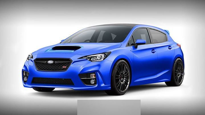The Hot Hatch Is Back 2018 Subaru Wex Sti Equipped With The New Direct Injection Turbo En Subaru Wrx Hatchback Subaru Sti Hatchback Subaru Wrx Sti Hatchback