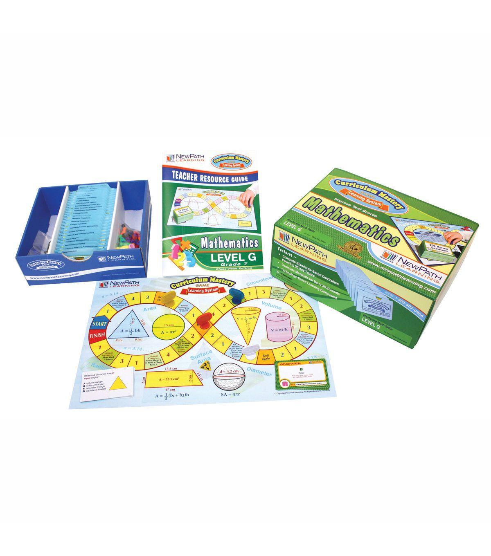Grade 7 Math Curriculum Mastery Game