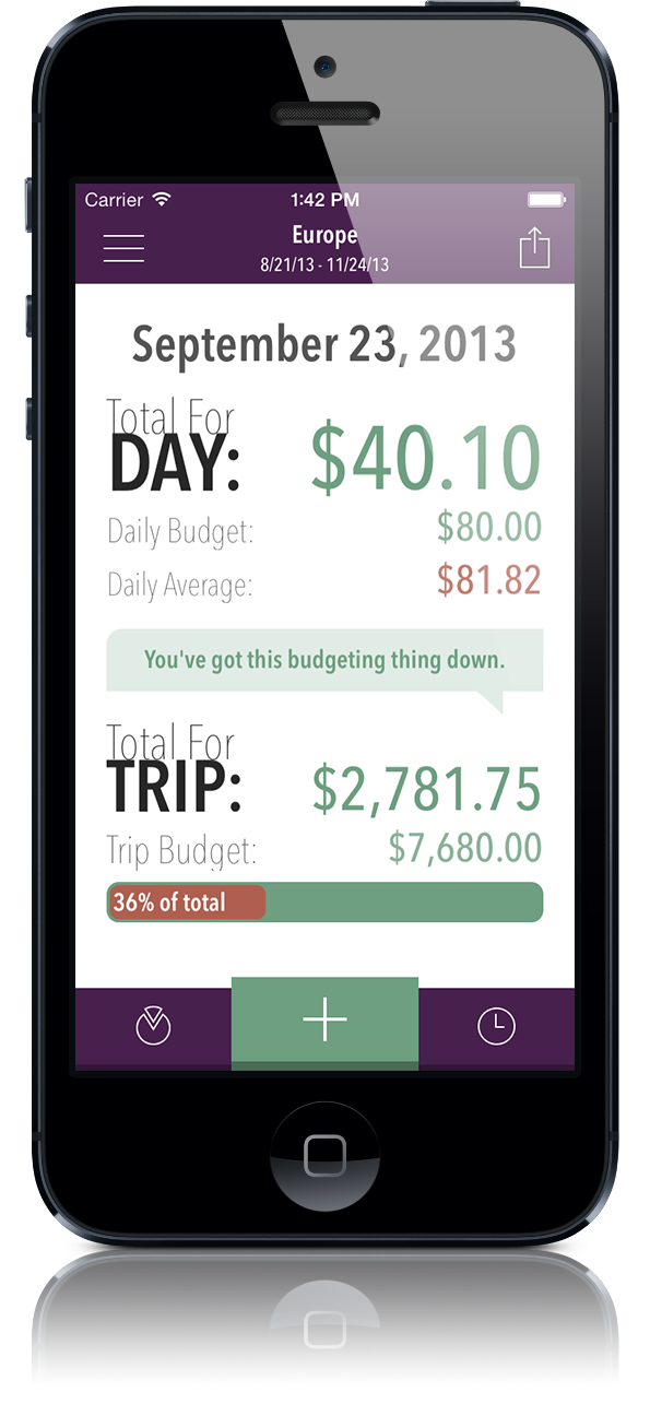 trail wallet trip planning travel app tips good to know