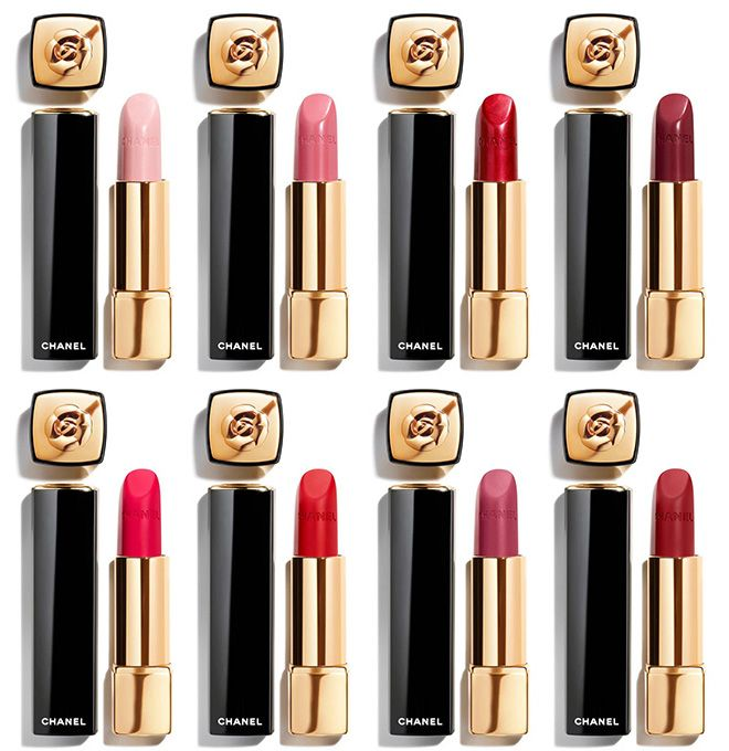 Photo of Chanel Camelia Rouge Allure Lip Colors & Lip Pencils for Spring 2020 Available Now Chanel Camelia Rouge Allure Lip Colors & Lip Pencils