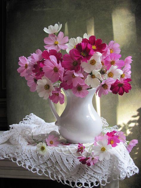 Flowers Arrangements Vase Colour 68 New Ideas Beautiful Flower Arrangements Flower Arrangements Cosmos Flowers