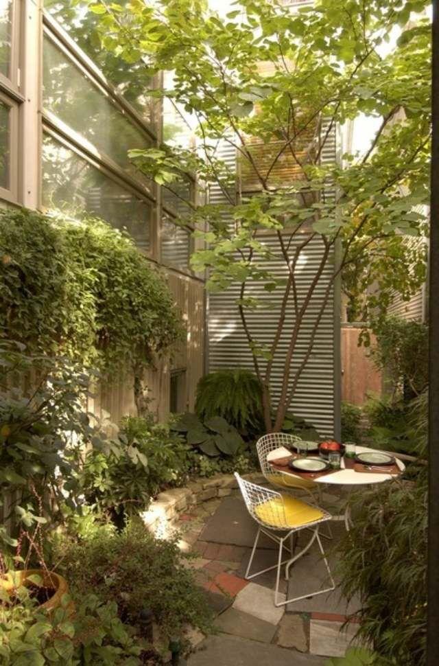Die Ideen Für Kleinen Hinterhof Gelten Für Alle Fälle, Wo Sie Ihren  Außenbereich Funktionell Vergrößern Und Eine Stelle Zum Ausruhen Gestalten  Möchten. Ideas