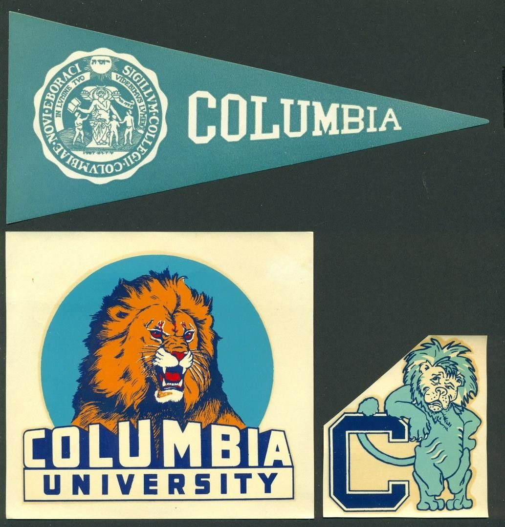 Vintage College Decal Stickers