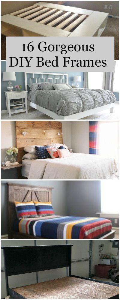 18 gorgeous diy bed frames - Diy Trkopfteil King Size
