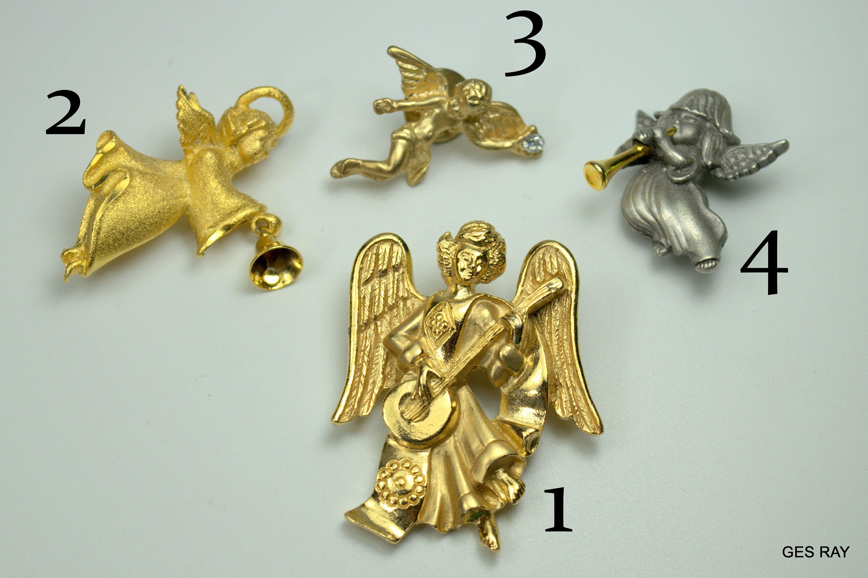 VINTAGE     /'/'      ANGEL   /'/'   BROOCH PIN