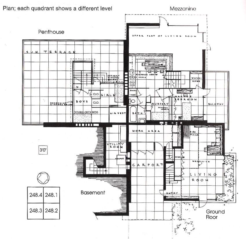 Suntop Homes Frank Lloyd Wright 1939 Pennsyvania The Quads Remember How In My Frank Lloyd Wright Frank Lloyd Wright Architecture Frank Lloyd Wright Design