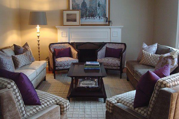 Living Room Space Designed By Glen U0026 Jamie From Peloso Alexander Interiors.  #design #