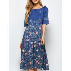 SHARE & Get it FREE | Plant Print A Line DressFor Fashion Lovers only:80,000+ Items • FREE SHIPPING Join Twinkledeals: Get YOUR $50 NOW!