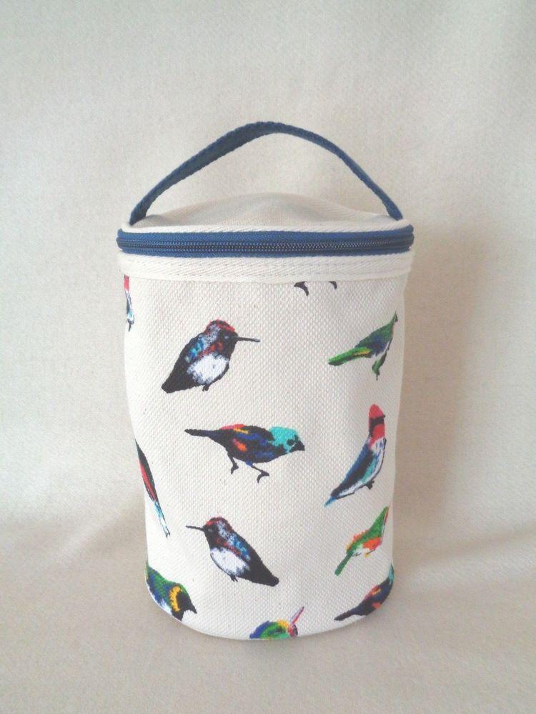 Vera Bradley Canvas Lotion Bag Mini Tody Birds Nwt Fashion Clothing Shoes Accessories Womensbagshandbags