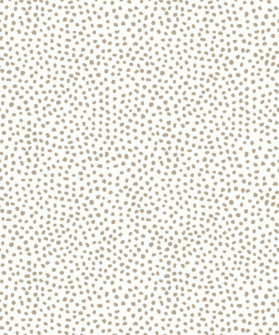 Sample Huddy€™s Dots Wallpaper in Taupe from the Wallpaper Republic Collection by Milton & King