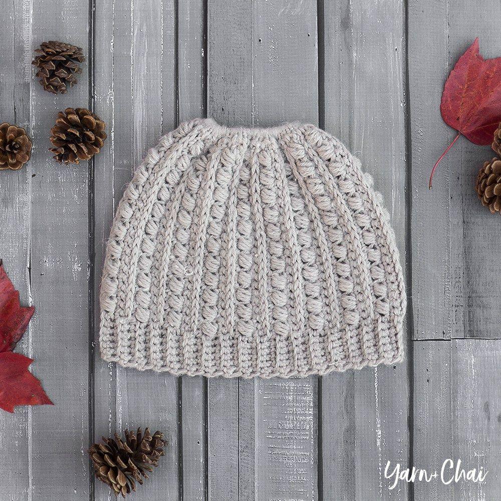 The Malia Beanie | Little Monkeys Crochet | Crochet Hats | Pinterest