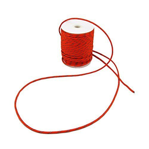 HONBAY 20M Reflective Cord 40mm Nylon Tent Rope Great for Camping or