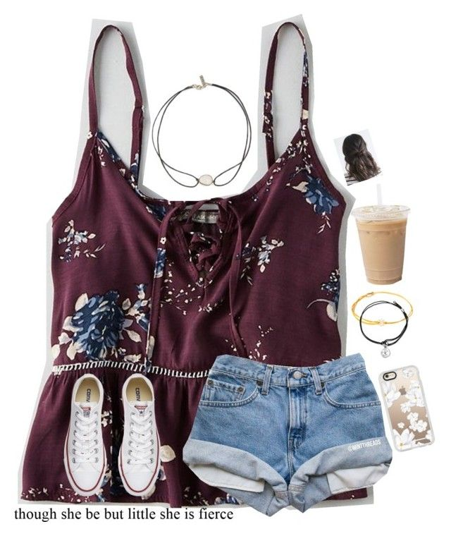 """""""{ if you never have a bad day you won't know what a good day feels like}"""" by jiejiebear ❤ liked on Polyvore featuring American Eagle Outfitters, Vanessa Mooney, Alex and Ani, Casetify and Converse"""