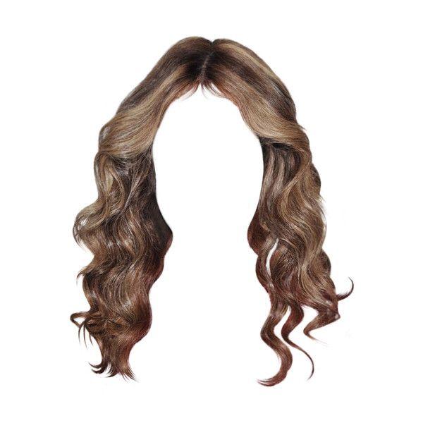 Polyvore Light Brown Hair Photoshop Hair Doll Hair