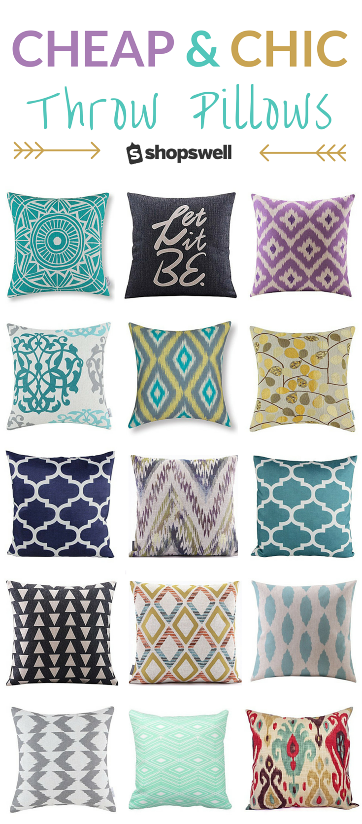 Chic fabulous and cheap throw pillows throw pillows
