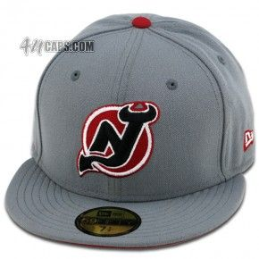 4b6901e45 NEW JERSEY DEVILS (STORM-GRAY/RED/BLACK/WHITE) | FRESH Fitteds ...