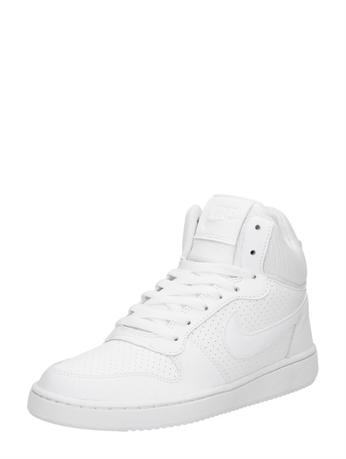 Nike Court Borough mid wit hoge dames sneakers