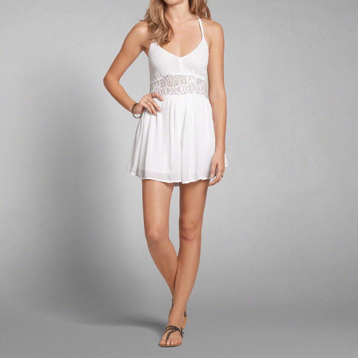 Abercrombie Accessories Abercrombie Accessories Abercrombie Womens Abercrombie Couple Abercrombie Womens: Womens Sheer Waist Romper