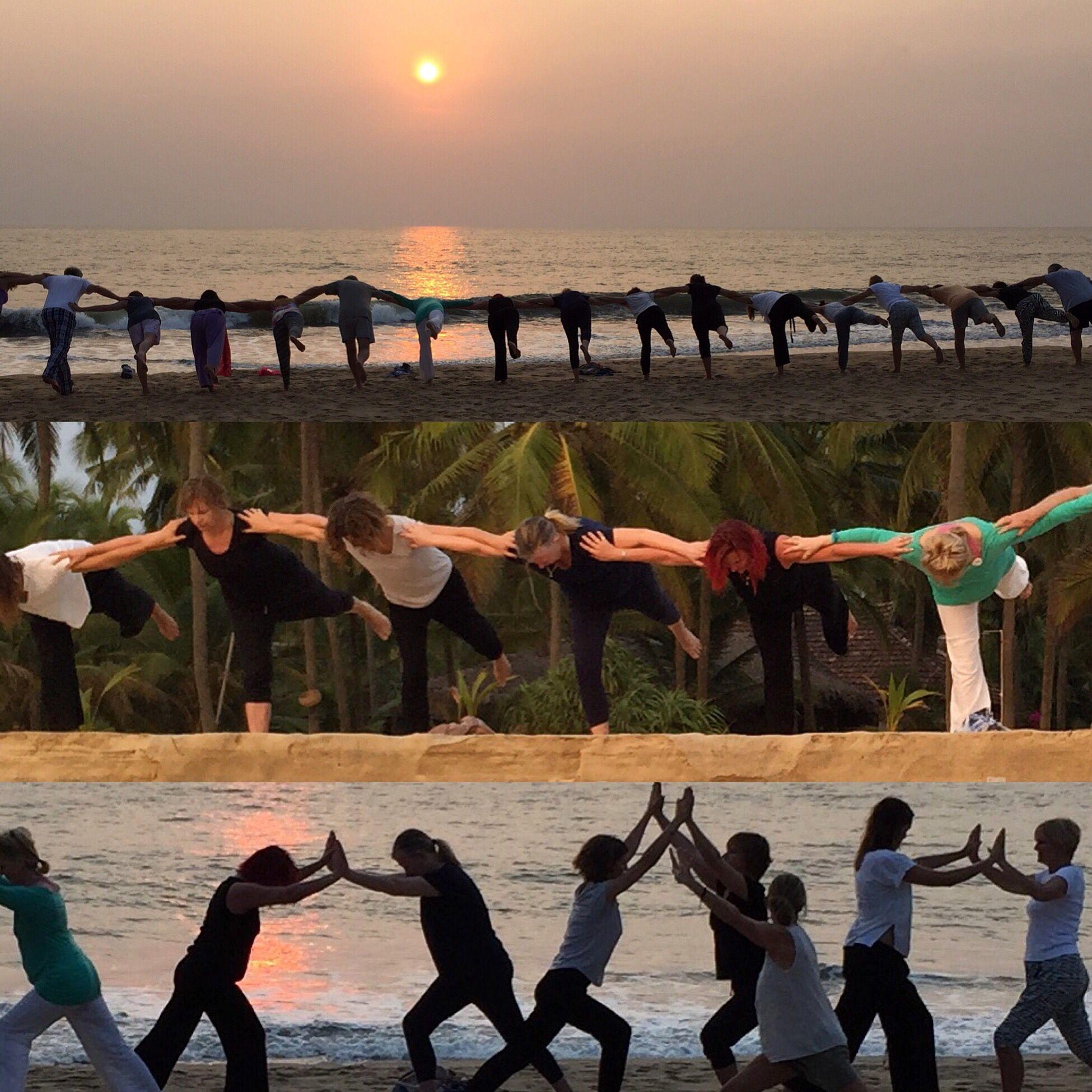 When the voice in your head tells you to travel LISTEN! In 10 years you'll wish you had! www.elisawilliamsyoga.com/yoga-in-kerala #yoga  #healthyholidays #retreats #vacation #yogatravel #yogaforeveryone #yogaforlife #kerala #india