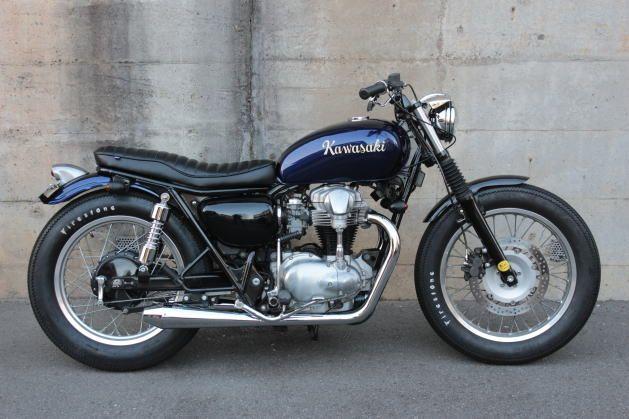 W650 Street Bobber W650 Kawasaki W800 Motorbikes Motorcycle