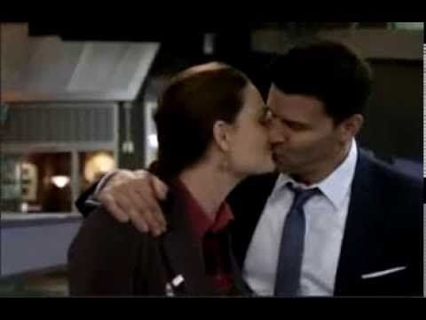 bones brennan and booth kiss - Google Search | Bones Forever
