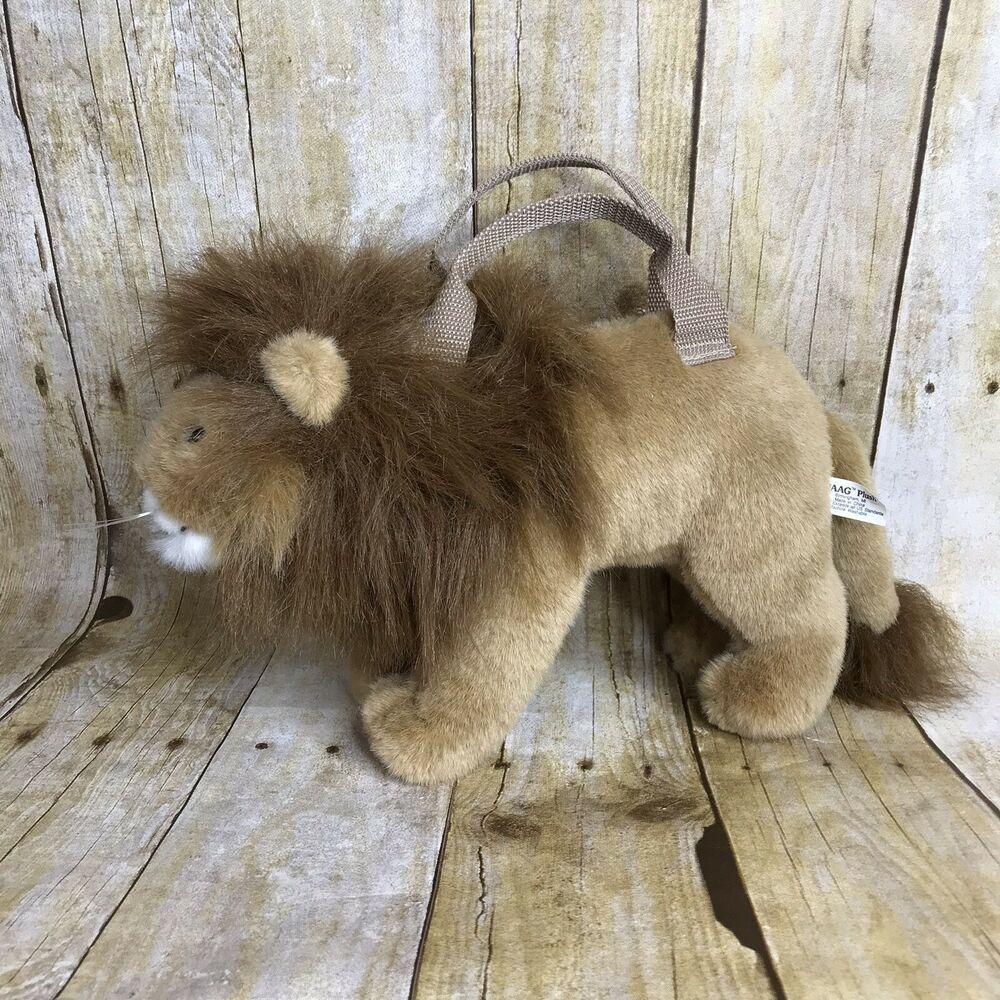 Jaag Plush Lion Kids Purse Zipper Compartment Kids Purse Brown And White Horse Plush Animals [ 1000 x 1000 Pixel ]