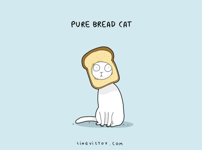 Cat Puns That Will Put A Smile On Your Face Cat - Amusing illustrations will put smile face