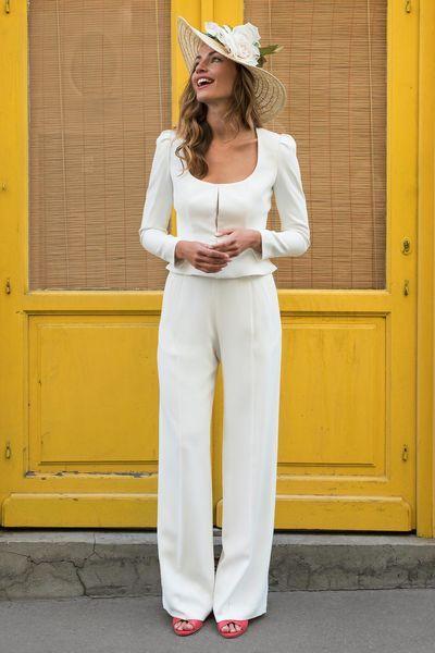Hosenanzug für die Braut zur Hochzeit: tolle Modelle für ...
