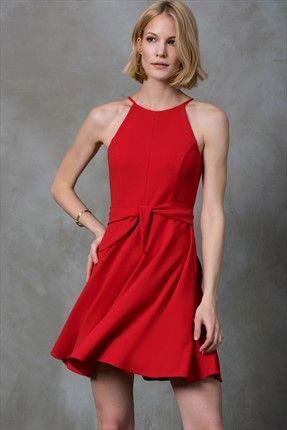Kırmızı Elbise MLWSS16GV1867
