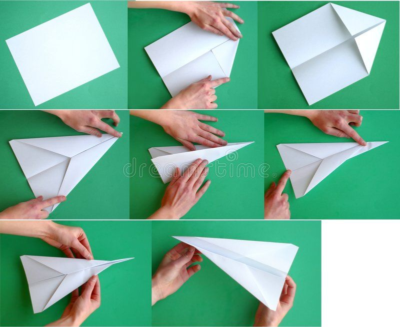 Paper Airplane Steps Of Folding A Paper Airplane Request From The Photographer Affiliate Folding Pap Make A Paper Airplane Paper Airplanes Paper Plane