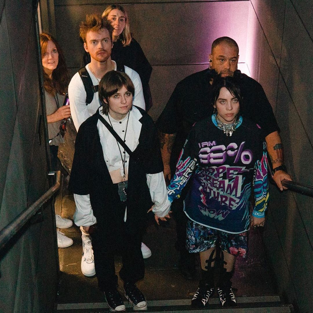 Almost The Whole Family Is There Lol Billie Eilish Billie Anime Guys