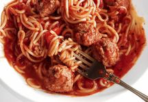Spaghetti & Meatballs with Homemade Sauce | Dixie Crystals® Recipe
