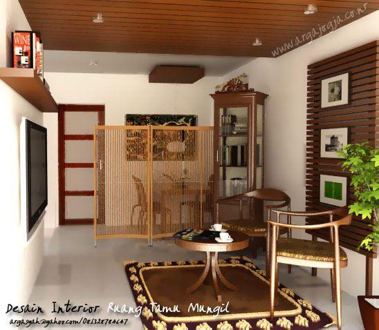 Desain Interior Kamar Tamu