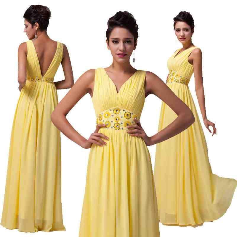 Sunflower Yellow Bridesmaid Dresses  14a5b79b59cc