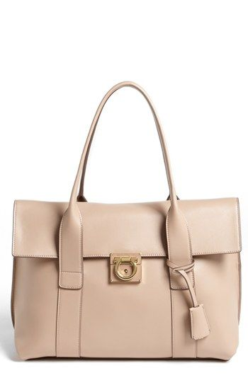 1efa40fbb526 Salvatore Ferragamo  Sookie - Small  Leather Satchel available at  Nordstrom