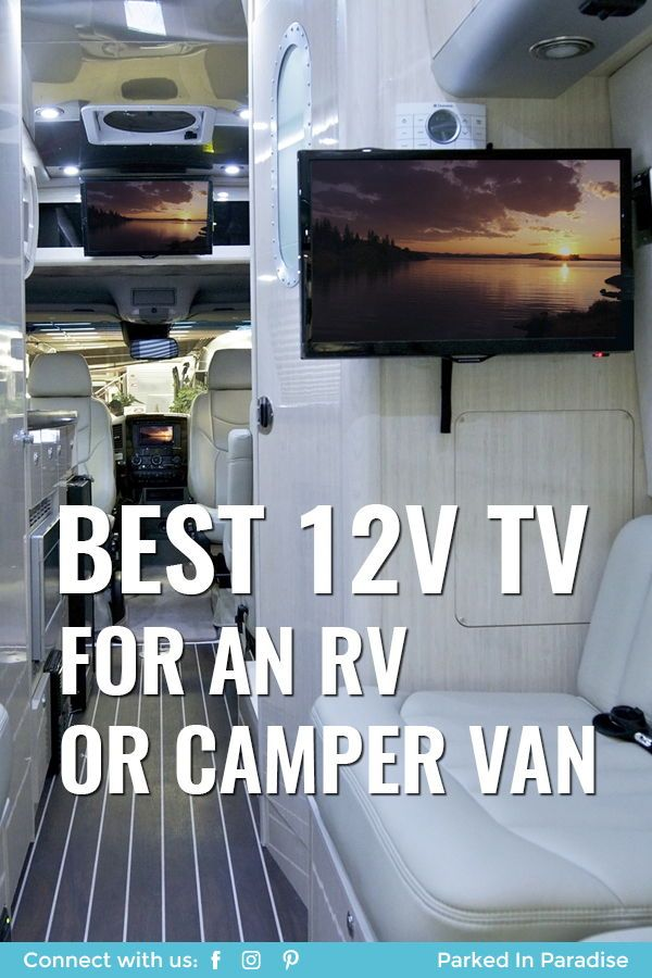 Best 12v Tv For Rv And Campervan Travel Rv Van Life Diy Motorhome