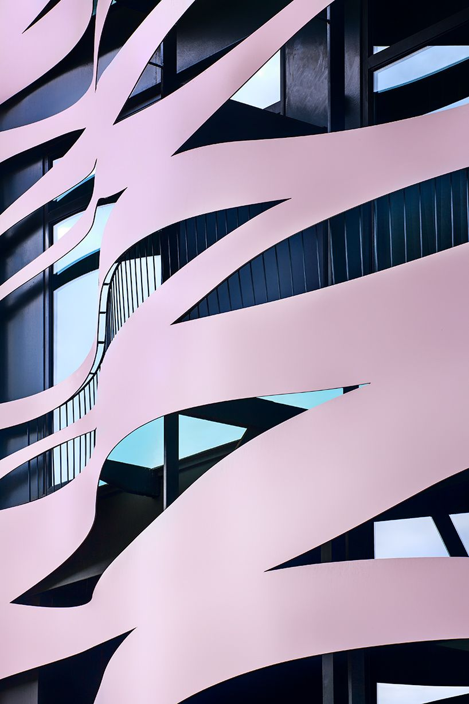 David Cardelús 25 years architectural photography Barcelona. Barcelona Suites Hotel, Toyo Ito