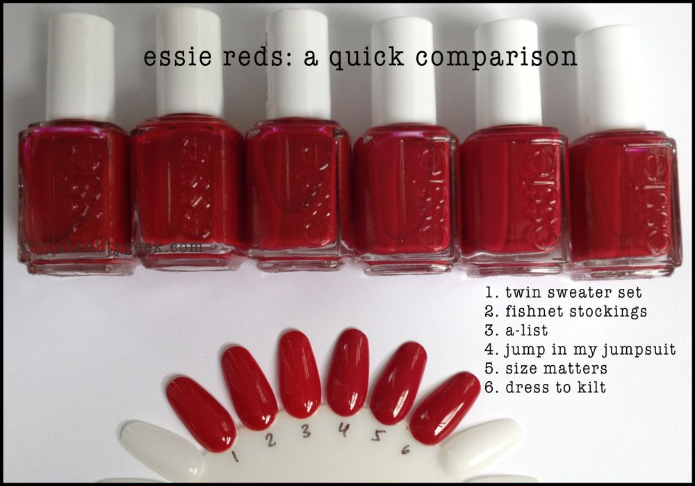 Essie Winter 2014: Jiggle Hi Jiggle Low + Luxeffects Swatches ...