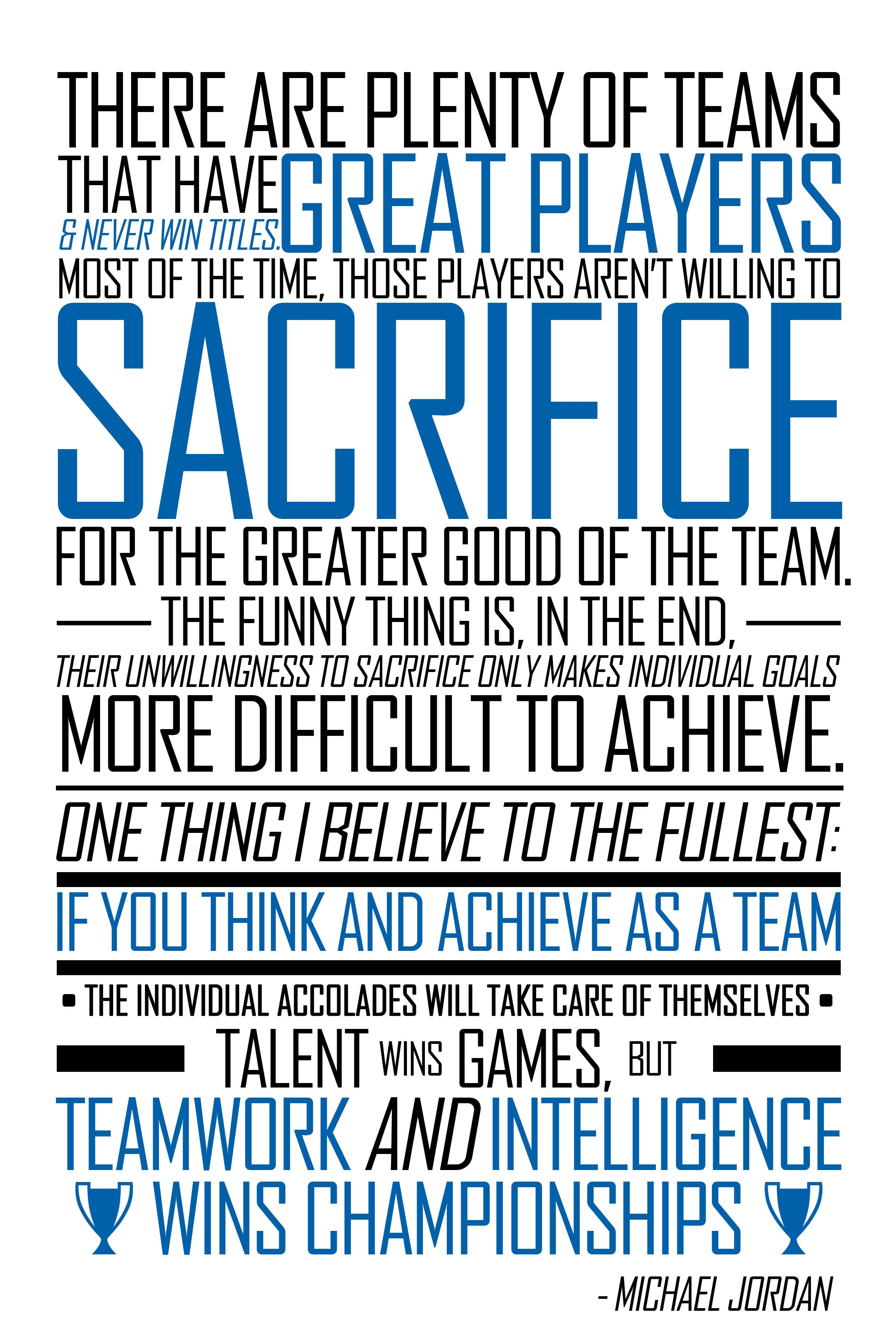 Teamwork Quotes Motivational Sports: Michael Jordan Quotes On Teamwork. QuotesGram