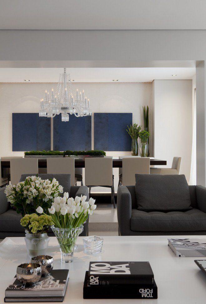 Decoração do Apartamento - Paula Magnani Décoration intérieure
