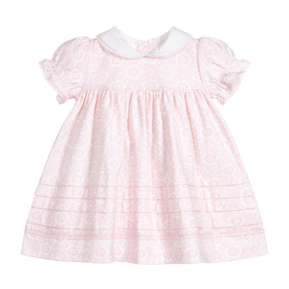 bfd842023 Pink Cotton Jersey Dress Set