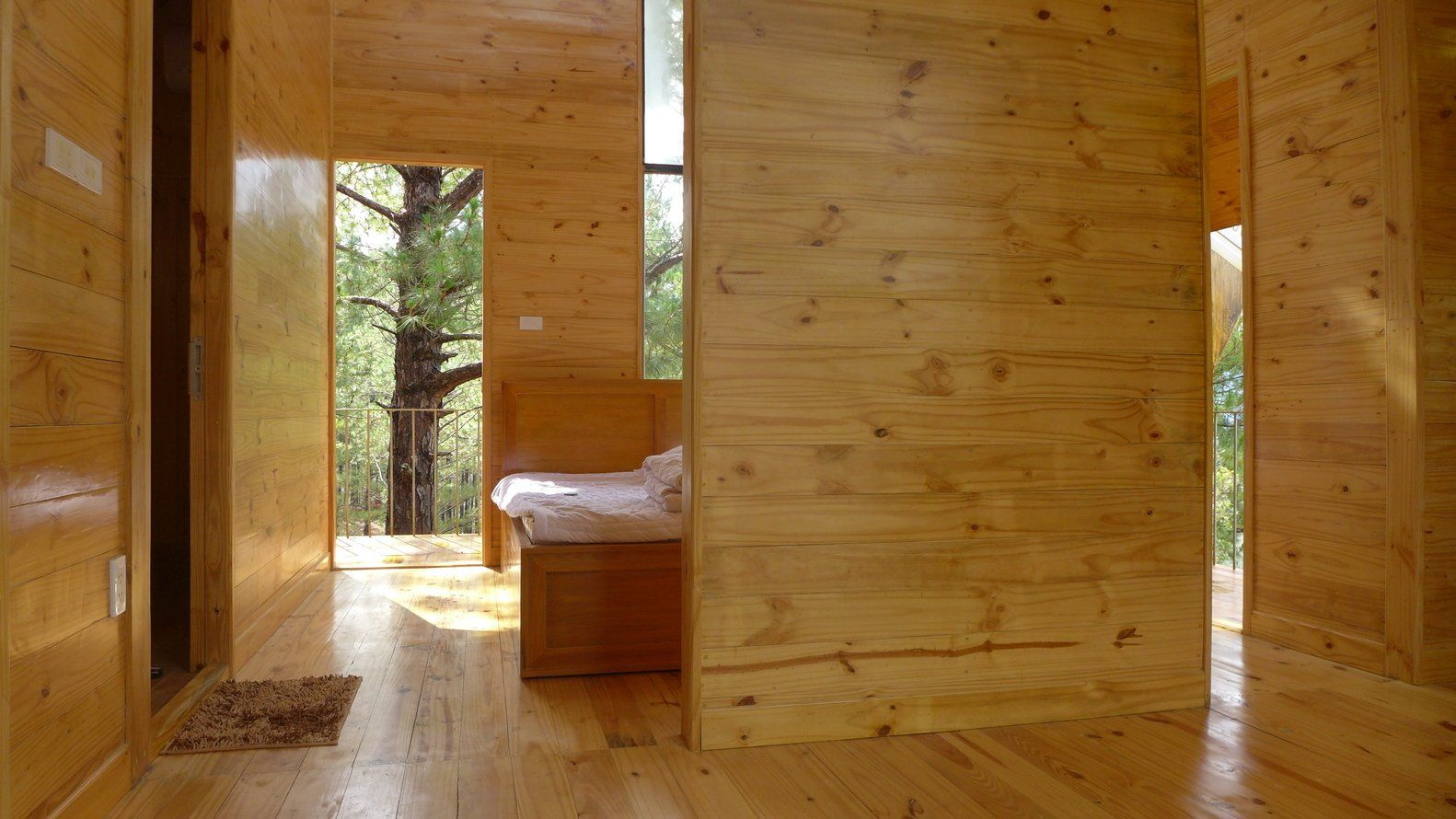Executive Office Of Ta Nung Homestay By Mỹ An Architects Modern Cabin Architect Cabin Homes