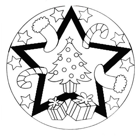 malvorlagen mandala weihnachten wwwausmalbilder